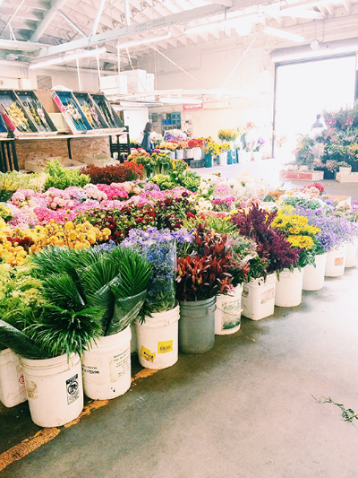 San Francisco Wholesale Flower Mart