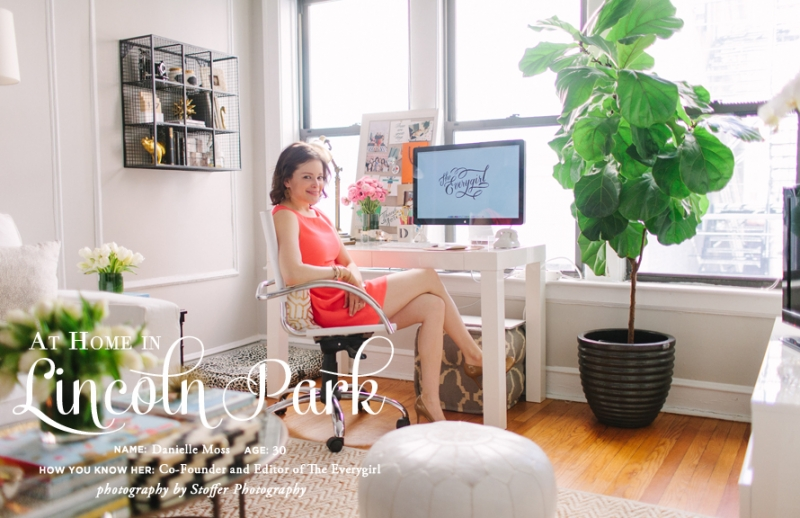 :: tour of theeverygirl co-founder Danielle Moss's Lincoln Park Apartment ::