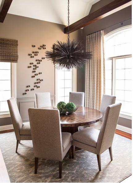 :: this elegant dining room :: by Chicago-based designer  Kristin Petro