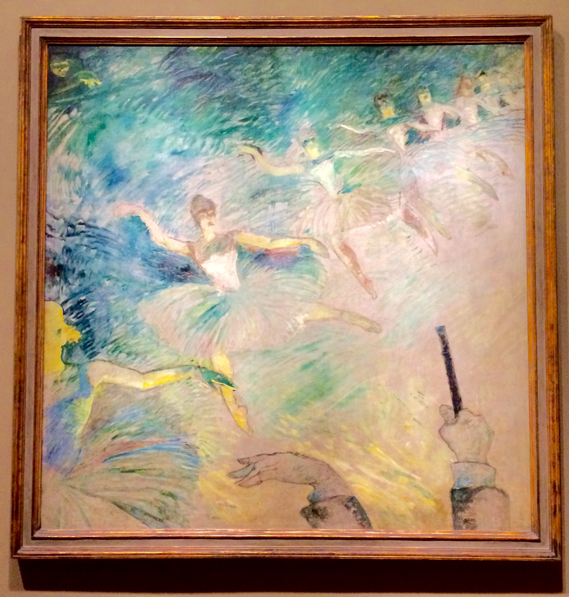 :: degas (I believe - didn't have time to take note since I was chasing Miss A around! ::