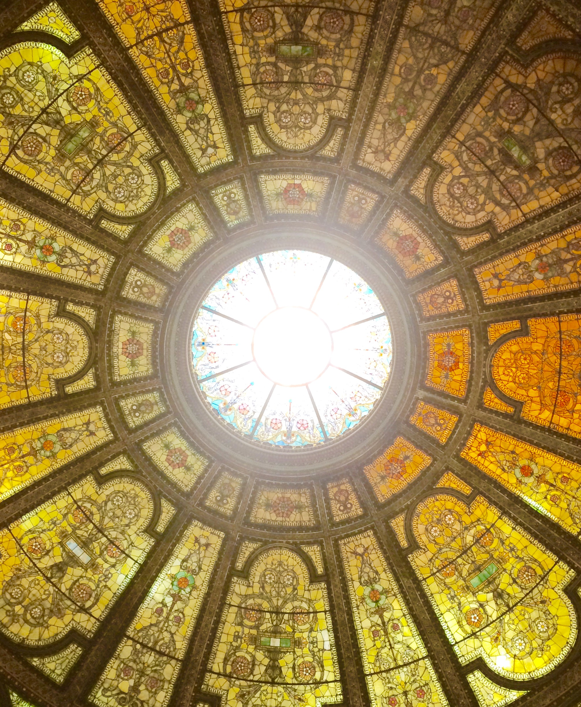 :: gorgeous dome details at the chicago cultural center ::