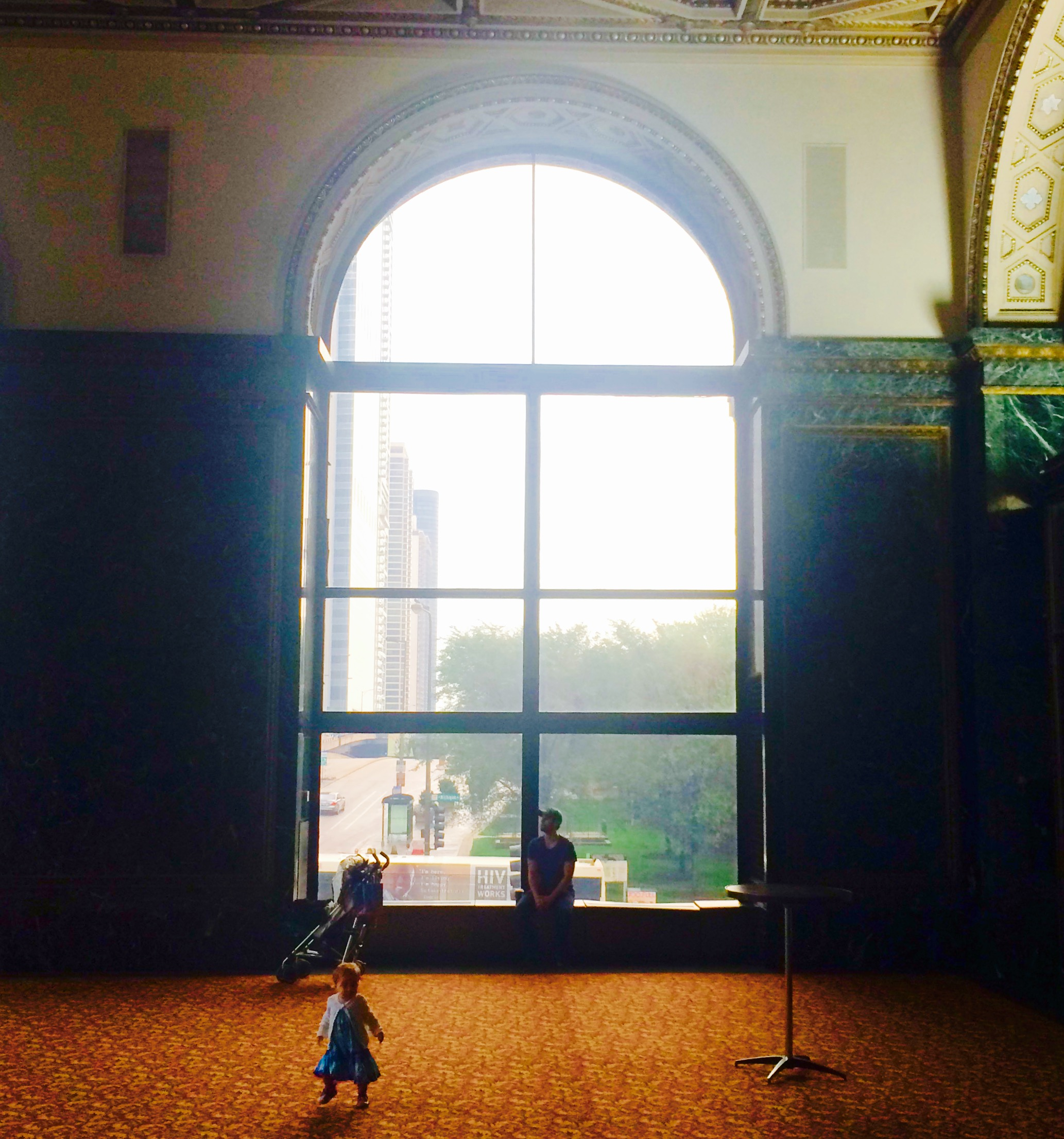 :: musings and wanderings at the chicago cultural center ::