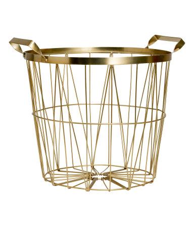 Metal Basket  $17.99
