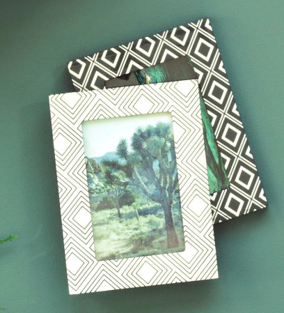 Patterned Picture Frame  $9.99