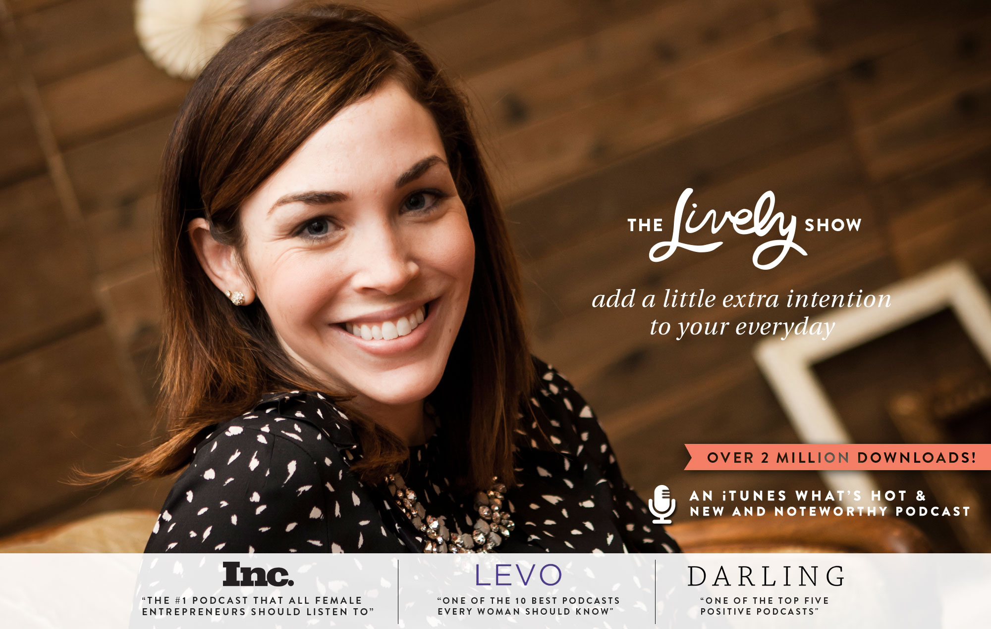 When I need inspiration, Jess Lively is where it's at. She does some of the most amazing interviews with super interesting, smart and talented individuals.
