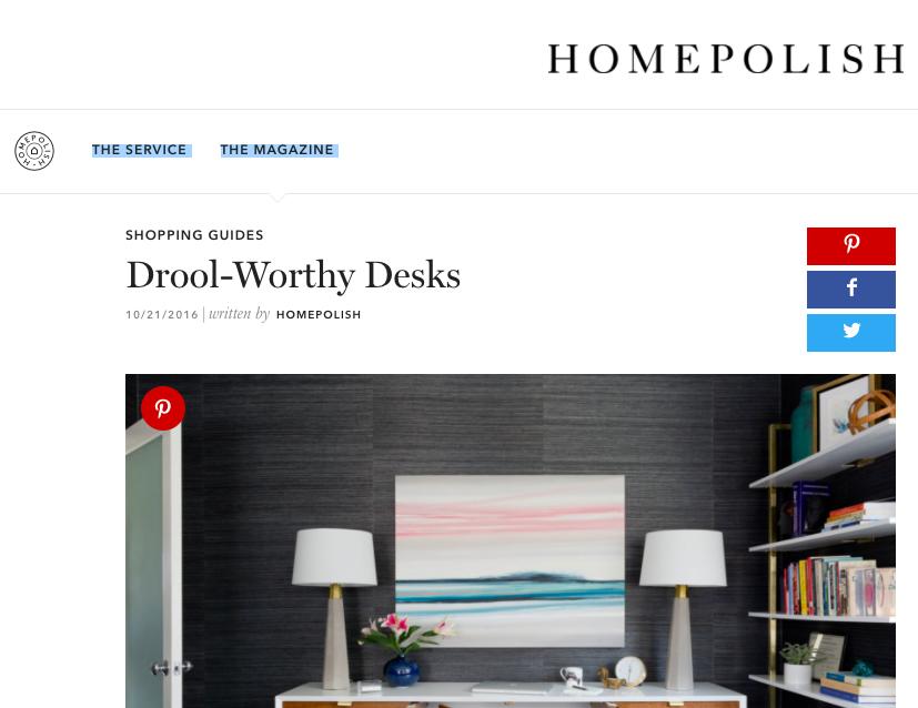 Homepolish - Drool Worthy Desks