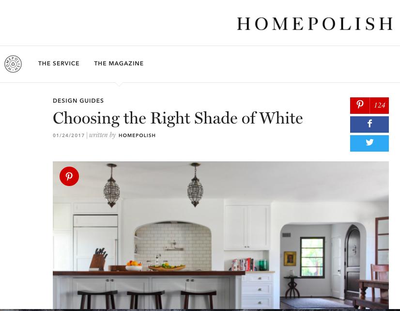 Homepolish - Choosing the Right Shade of White