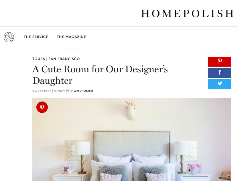 Homepolish - A Cute Room for our Designer's Daughter