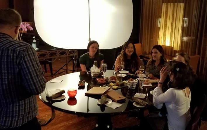 BAH Spouses filming.jpg