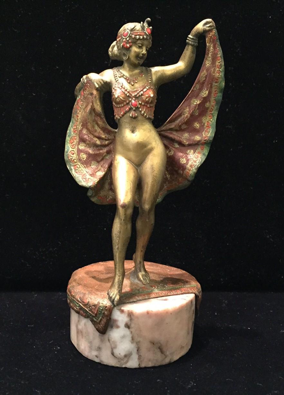 Oriental Dancer by Franz Xavier Bergman (1).JPG