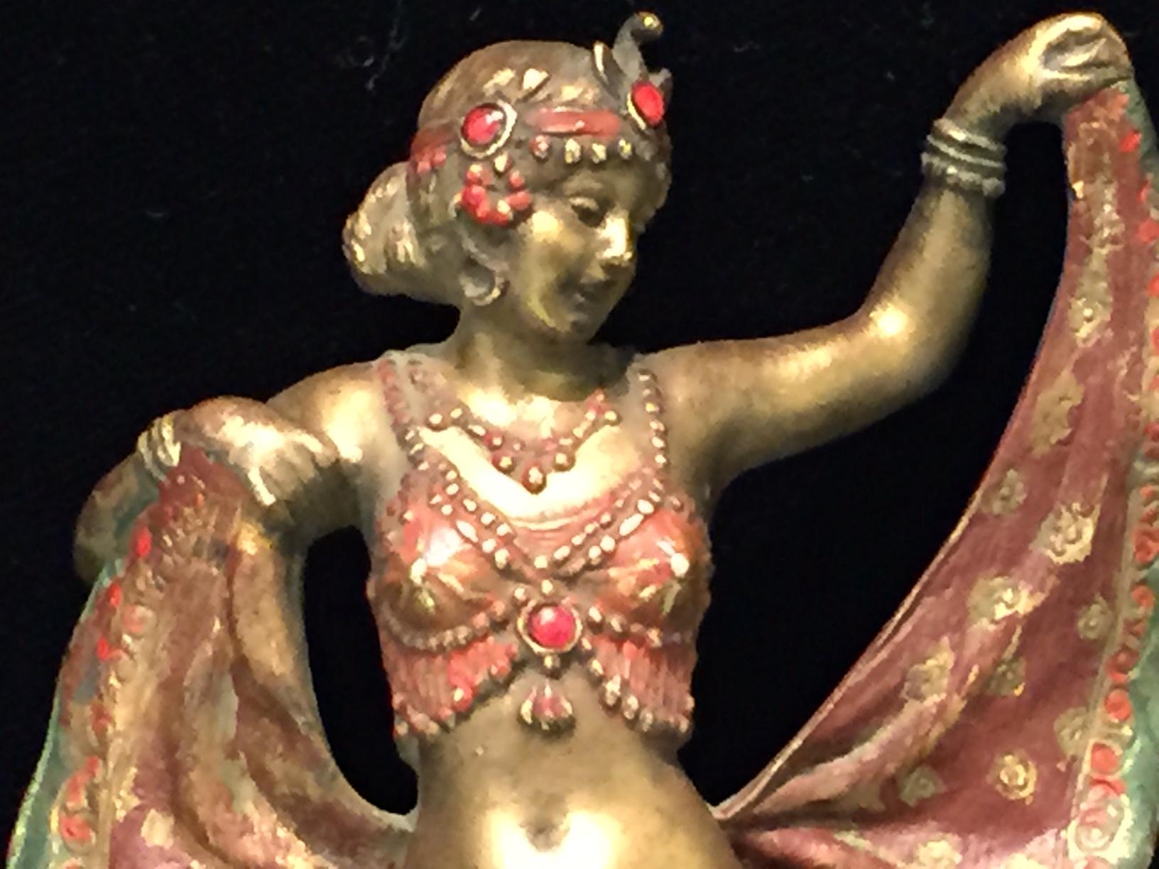 Oriental Dancer by Franz Xavier Bergman (7).JPG