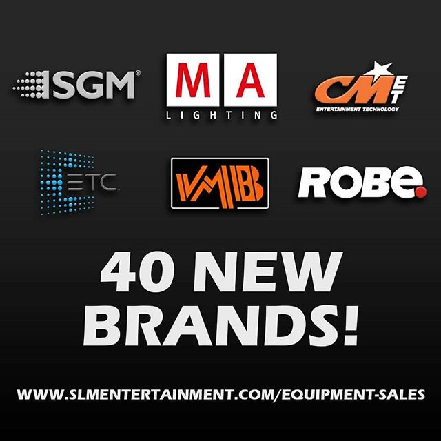 Happy to announce that we've added another 40 great brands to our equipment sales lineup.  See the full list of additions by following this link to our blog post!  tiny.cc/SLM40