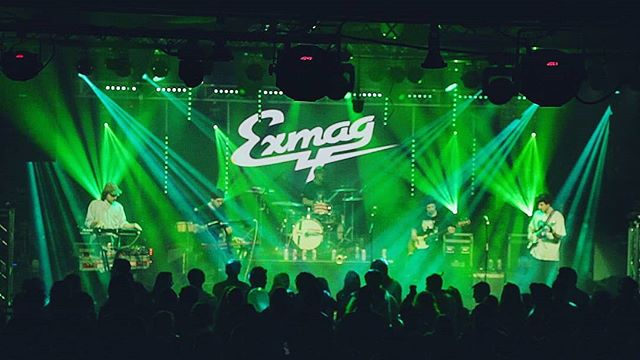 Throwback to NYE when we did lights for @exm4g and @yamyamband!