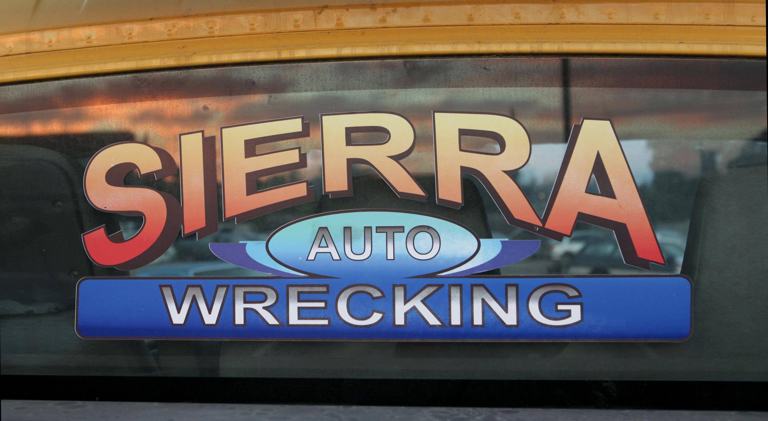 Sierra Auto Wrecking