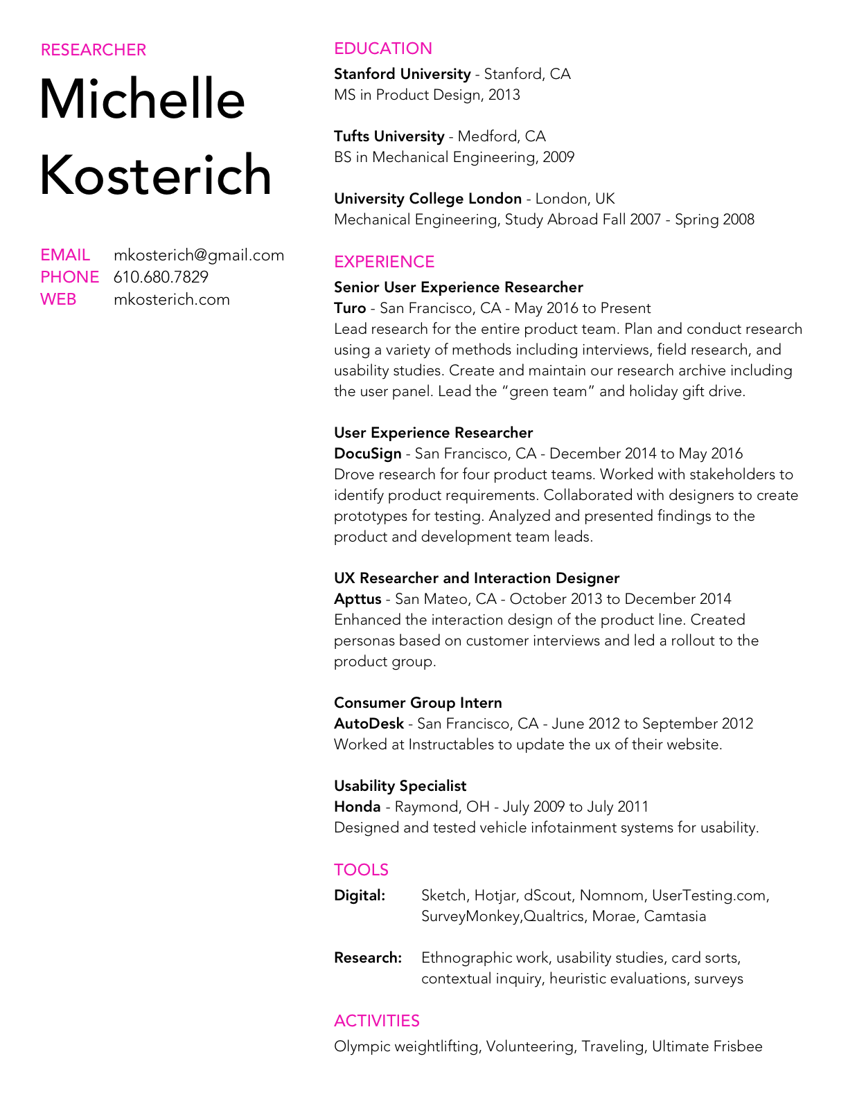 MKosterich_Resume_2018