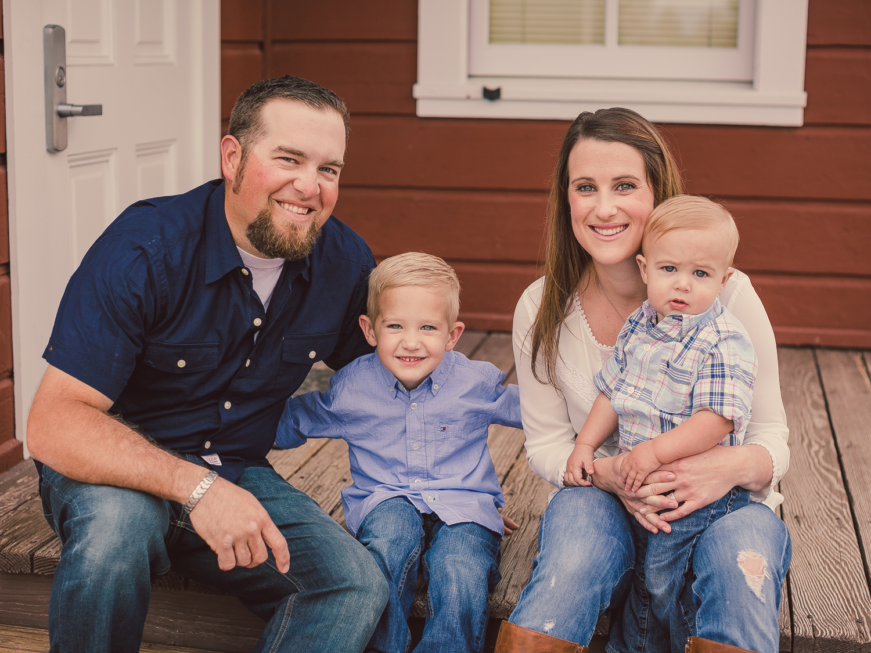 Family Portrait Session, Santa Ynez Valley / Ballard School