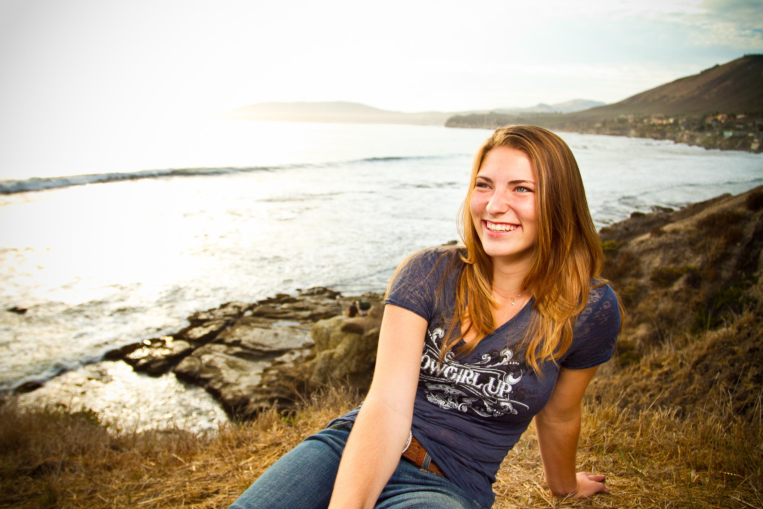 Senior Portrait Session, Pismo Beach, CA / Shell Beach
