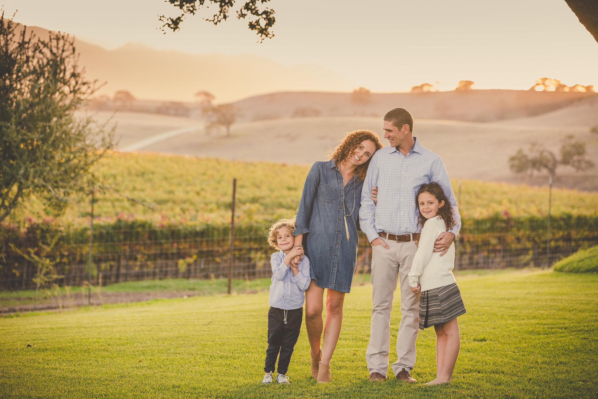 Family Portrait Session, Santa Ynez, CA / Private Ranch & Estate