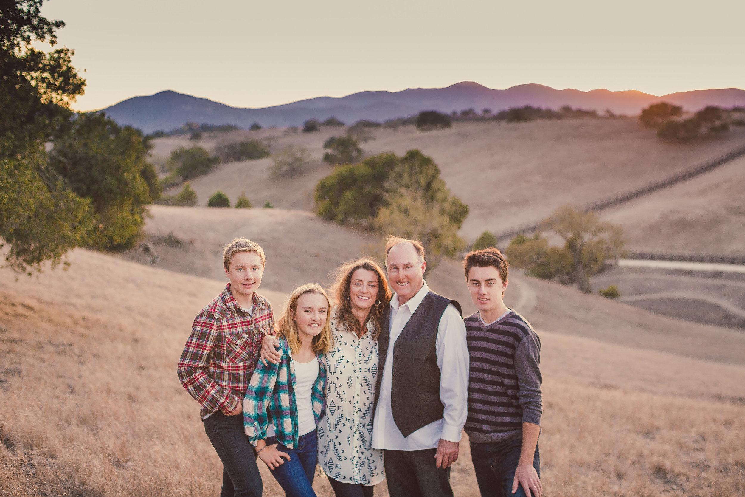 Family Portrait Session, Solvang, CA / Private Ranch & Estate