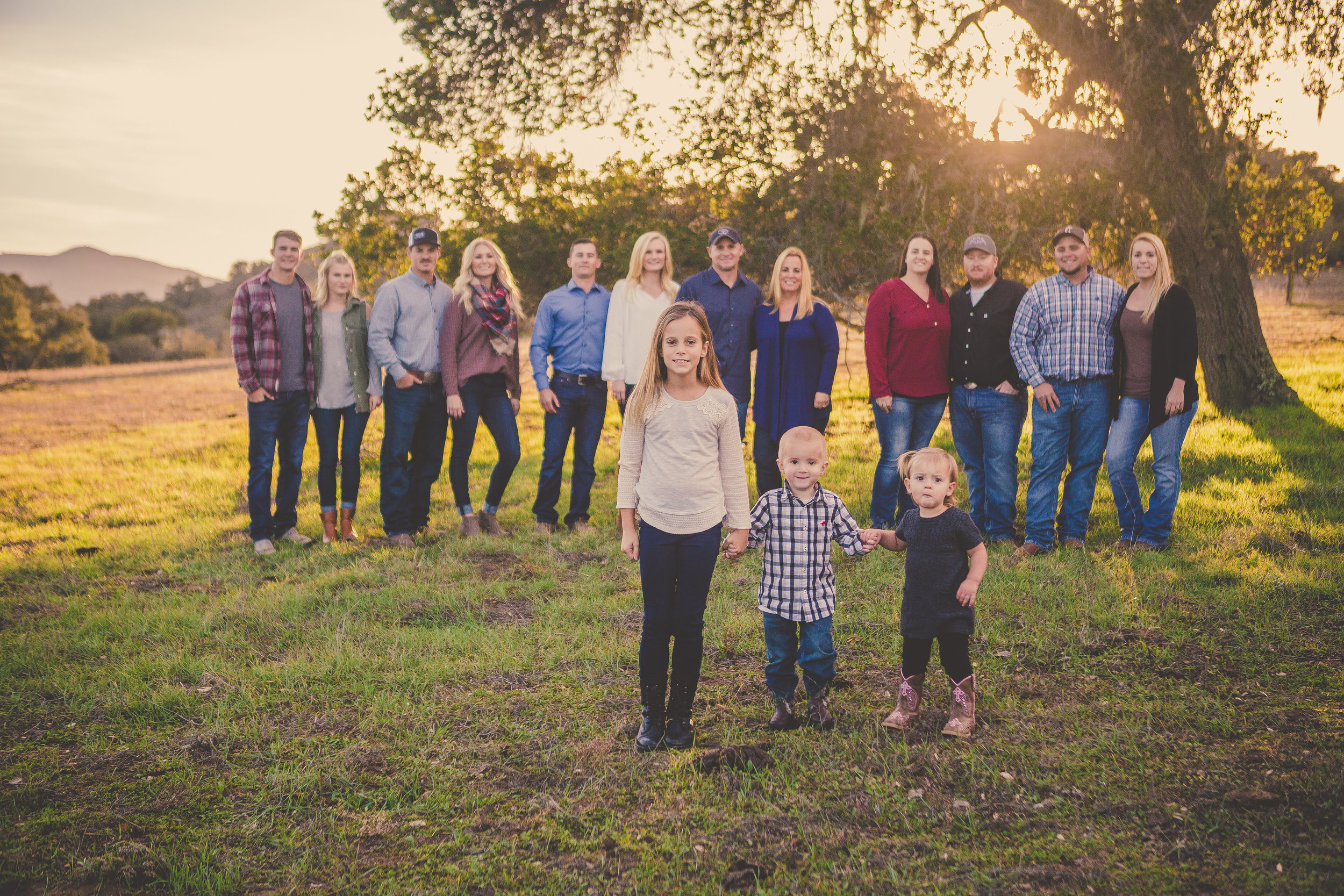 Family Portrait Session, Los Olivos, CA / Private Ranch
