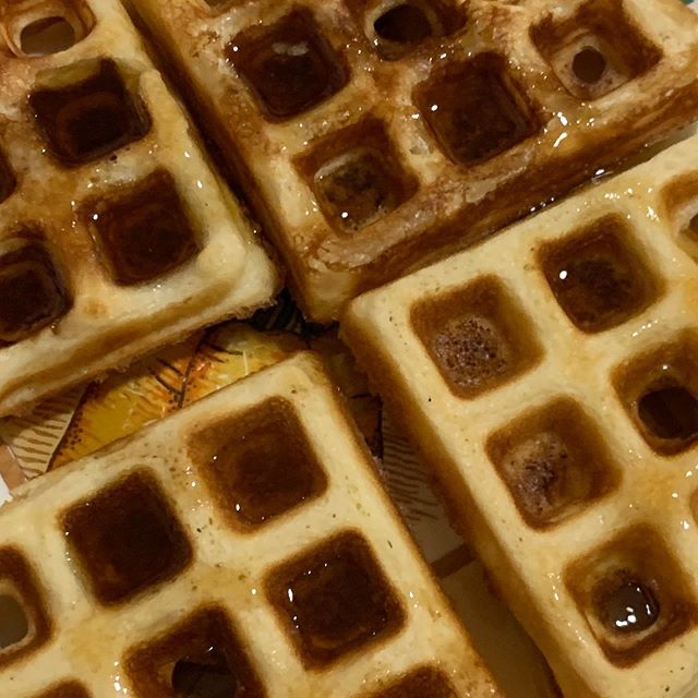#waffles #breakfast for #dinner #newmusic #composer #composerfood