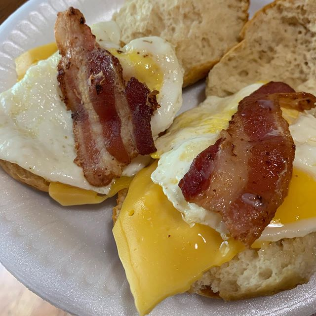 #breakfast #egg #cheese #bacon #biscuits #newmusic #composer #composerfood