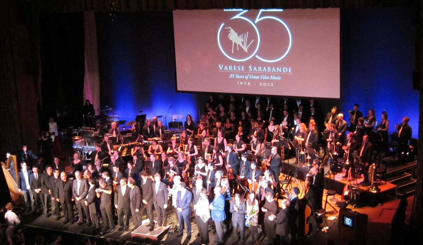 Varese Sarabande 35th Anniversary Final Bows -