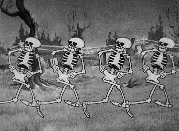 The Skeleton Dance - the first Silly Symphony