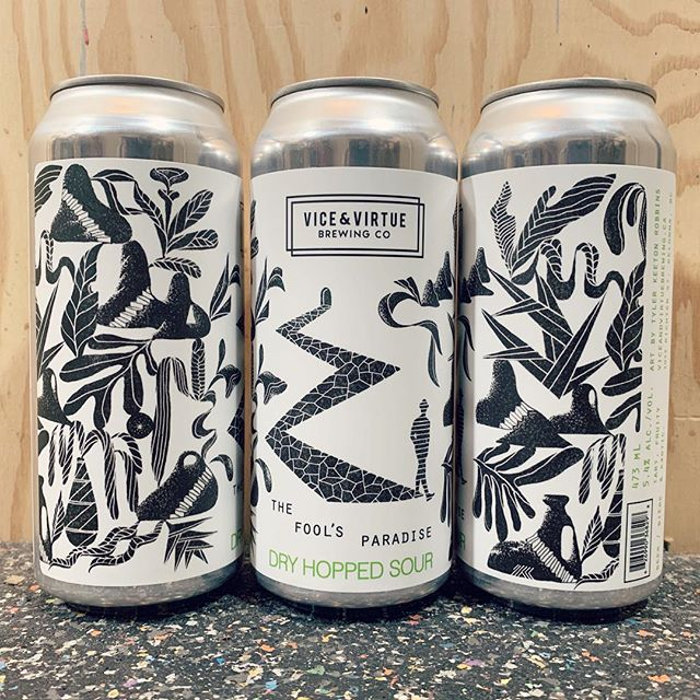 We take for granted being able to work for our neighbours. Thanks for making it so easy and giving me so much creative freedom @viceandvirtuebeer. Try this beer.