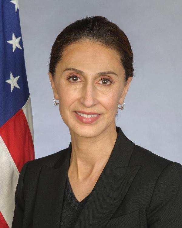 The Honorable Azita Raji  U.S. Ambassador to Sweden