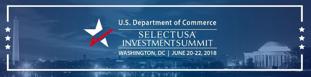 The SelectUSA Investment Summit is the premier event showcasing investment opportunities in the United States. The 2018 Summit will bring together companies from all over the world and economic development organizations from every corner of the United States.