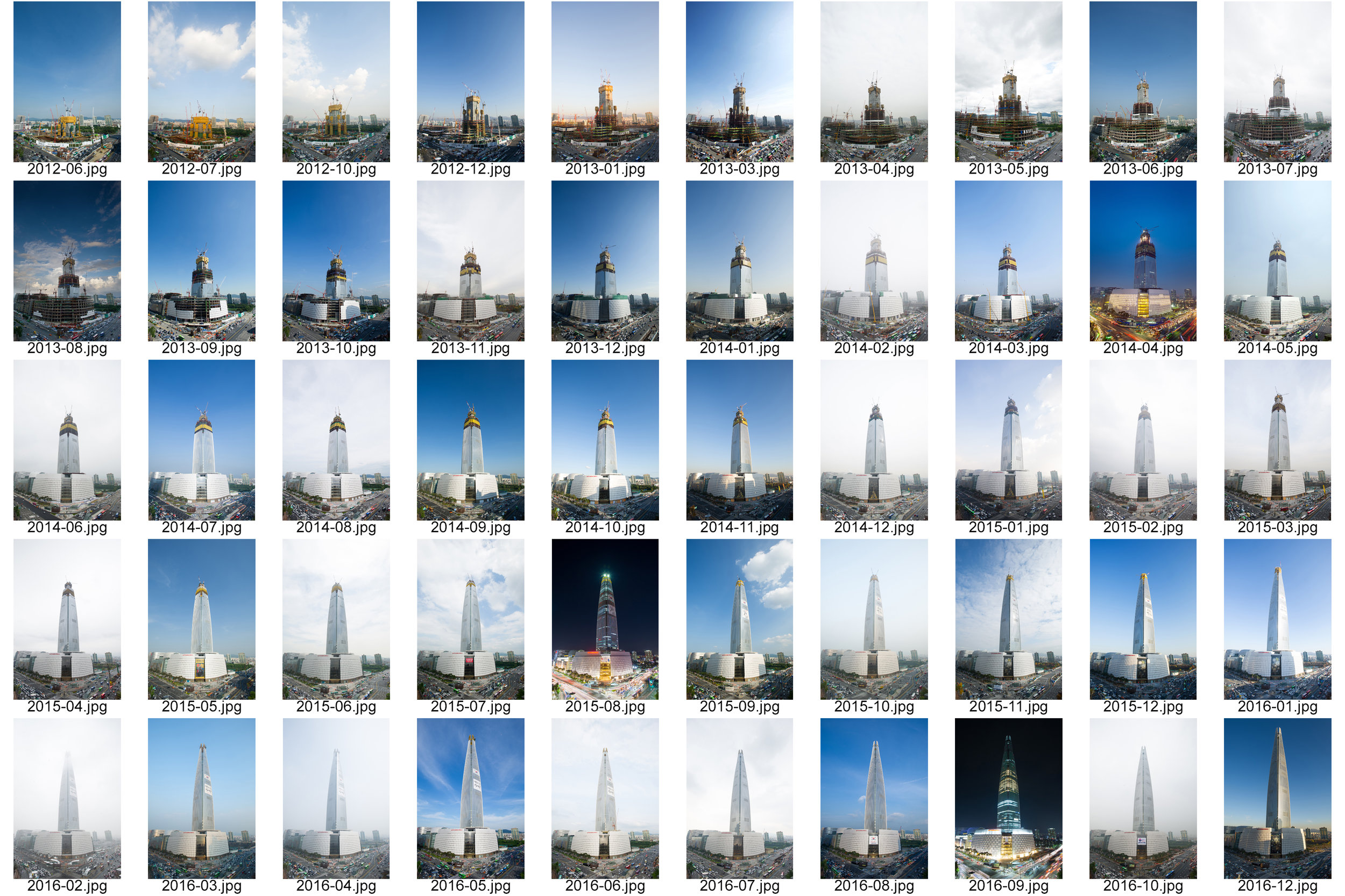 Lotte World Tower (2012 ~ 2016)