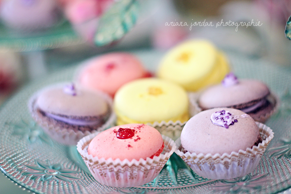 I had never tried a macaroon before, and oh my, are they heavenly. The purple ones were lavender flavored, my favorite!