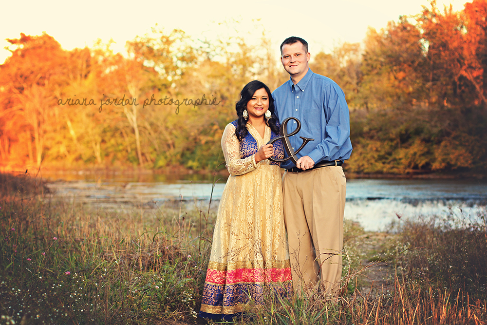 From their engagement session in October.
