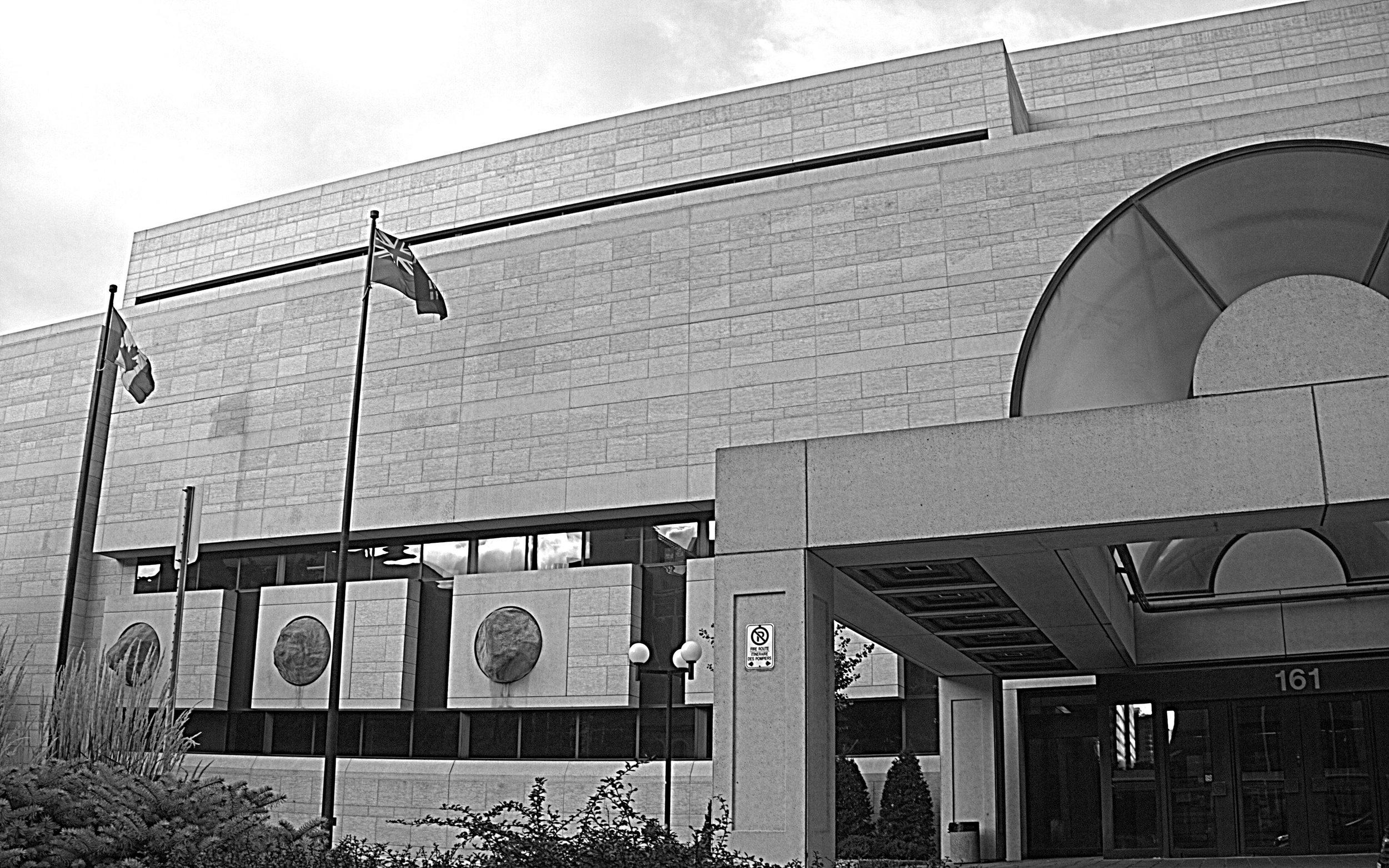The Elgin Street Courthouse, 161 Elgin Street, Ottawa.