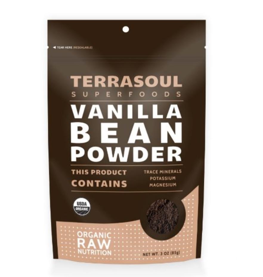 Organic  Terrasoul Vanilla Bean Powder