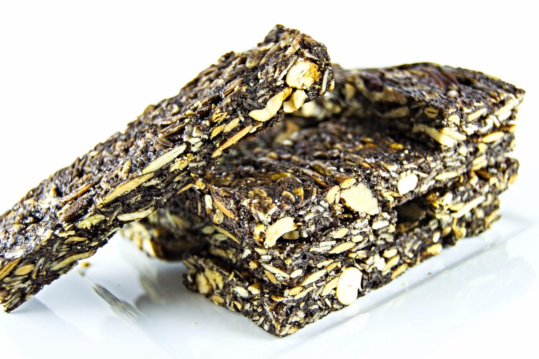 Granola stack slanted