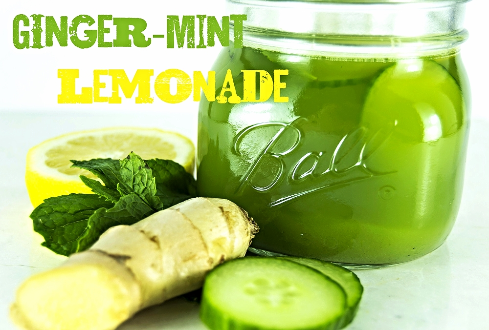 Detox drinks - cuke mint text