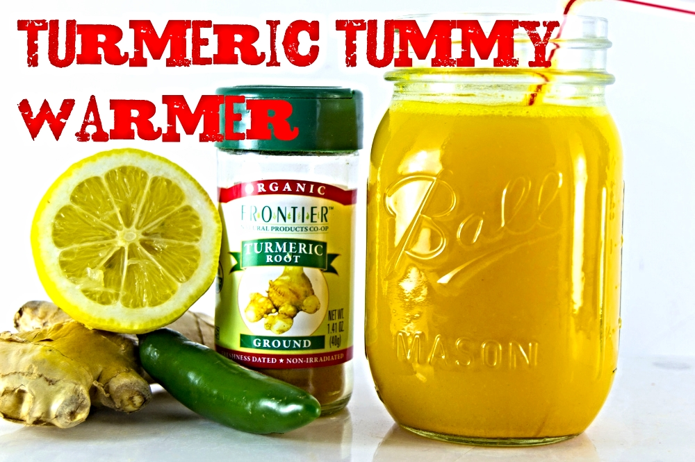 Detox drinks - turmerictext