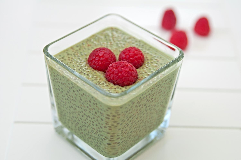 Matcha Energy Chia Pudding