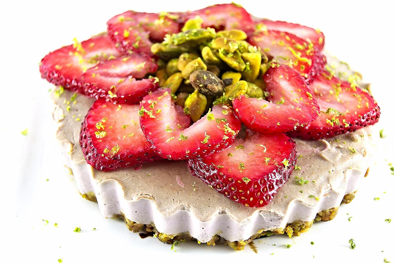 Strawberry Pistachio Tarts
