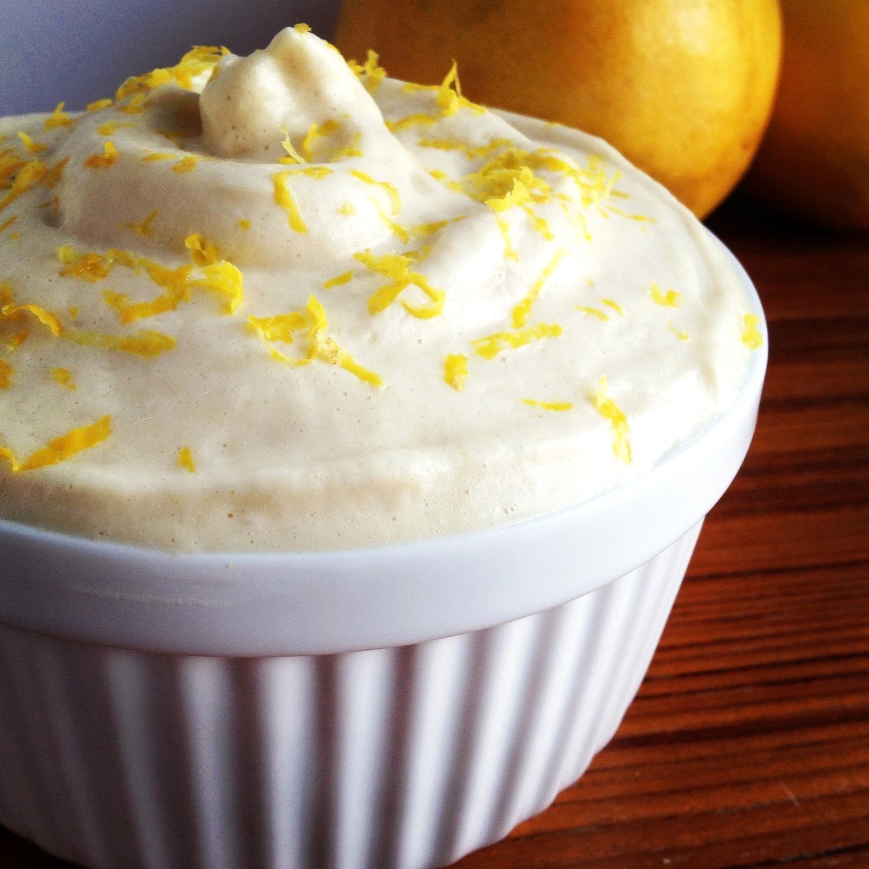 Dairy Free Paleo Lemon Mousse