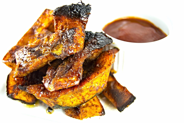 Sweet & Smokey Maple Kabocha Fries