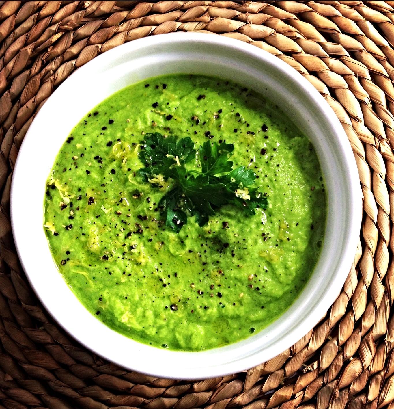 Broccoli Herb Soup