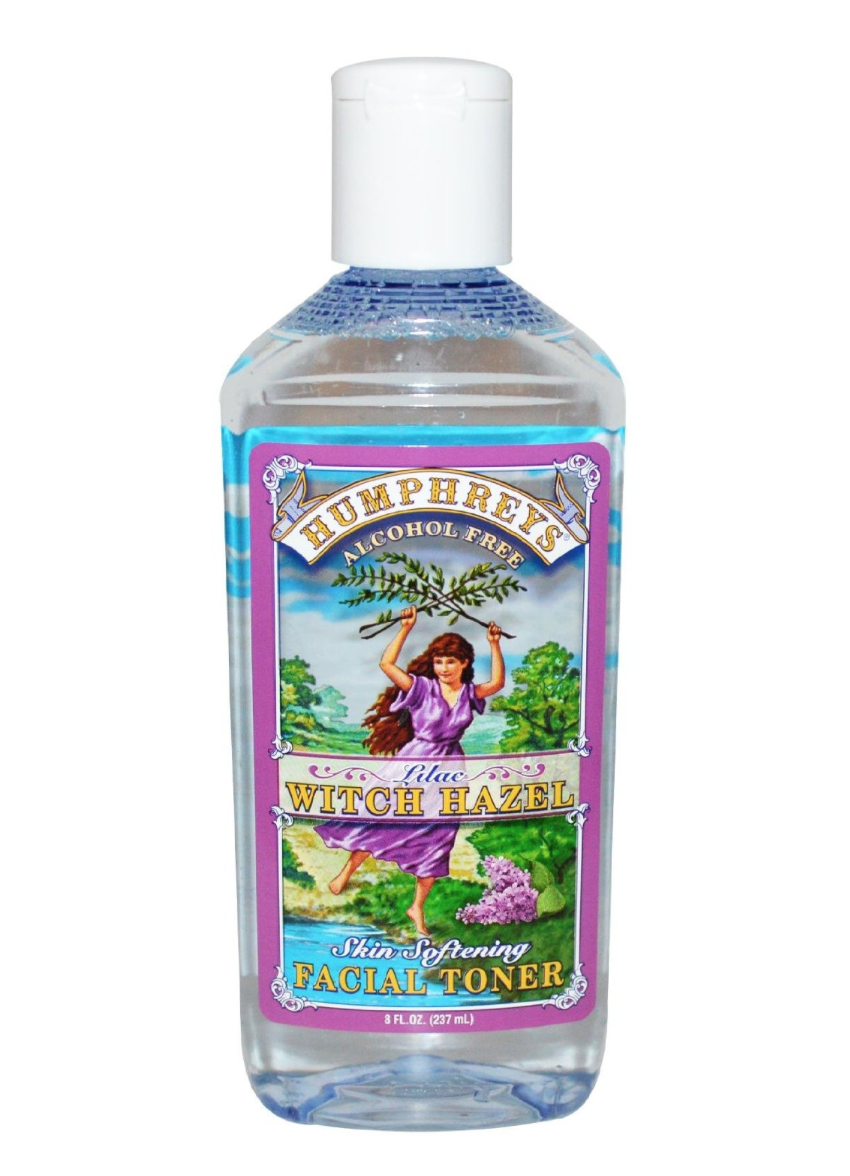 Humphrey's Homeopathic Remedy Witch Hazel Facial Toner Lilac
