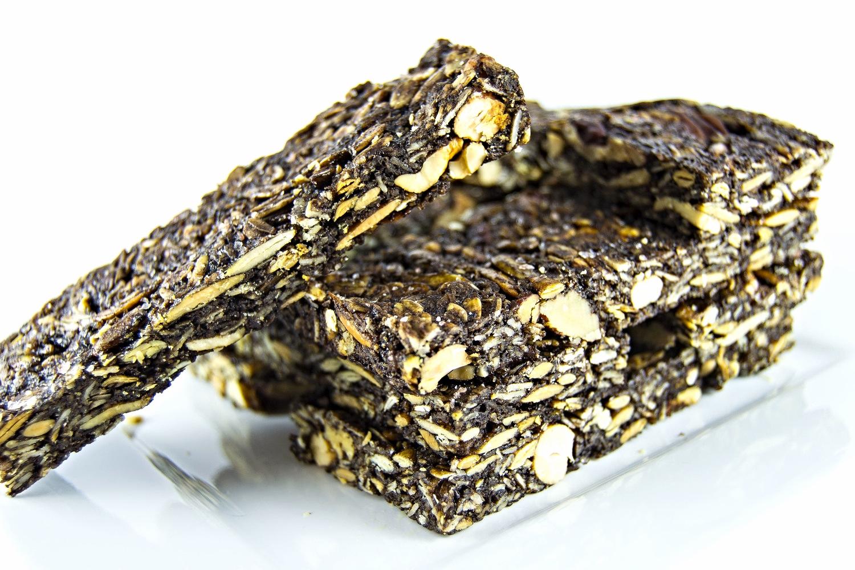 Chocolate Coconut Spiced Granola Bars