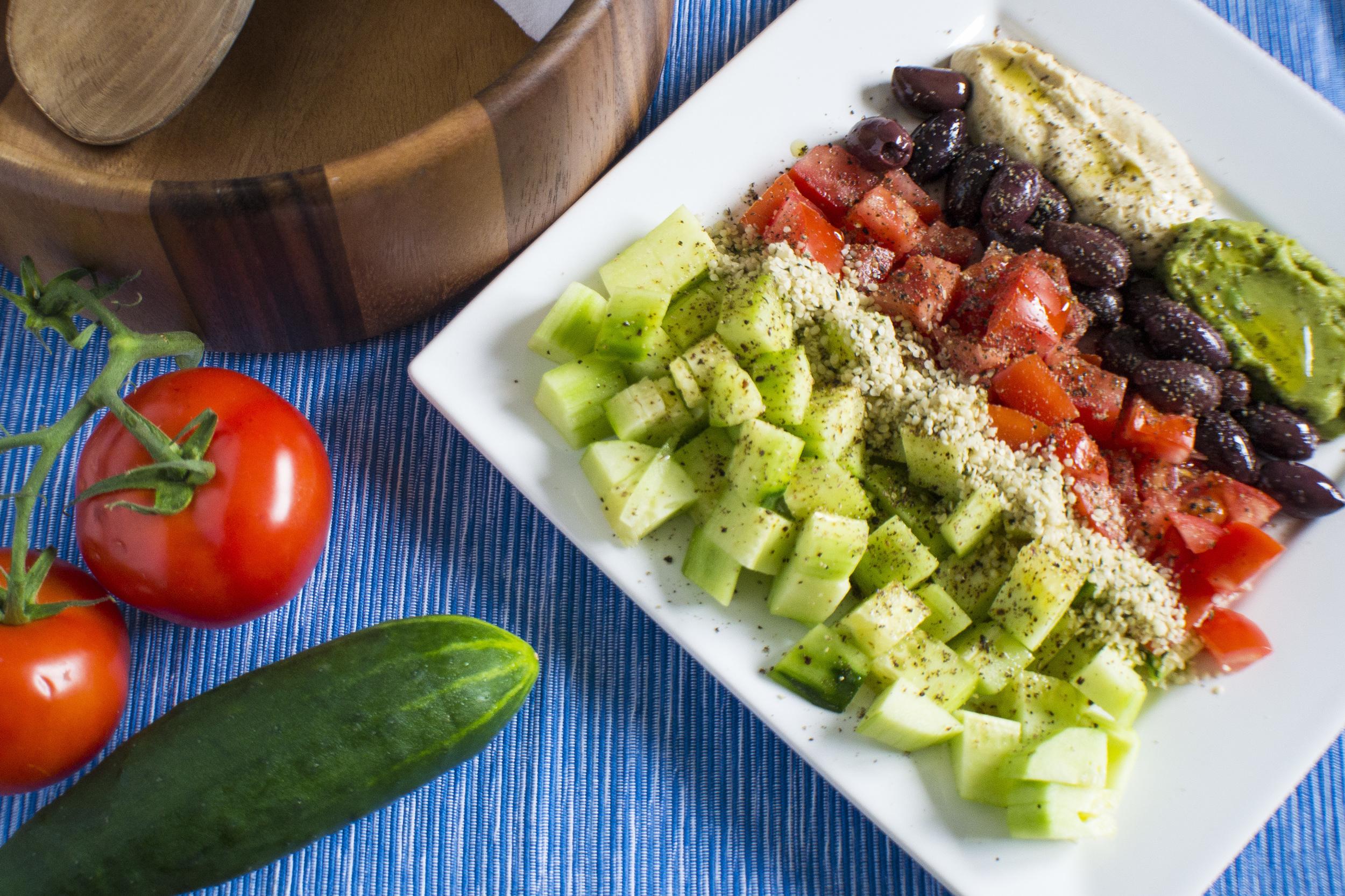 5 Minute Weightloss Salad