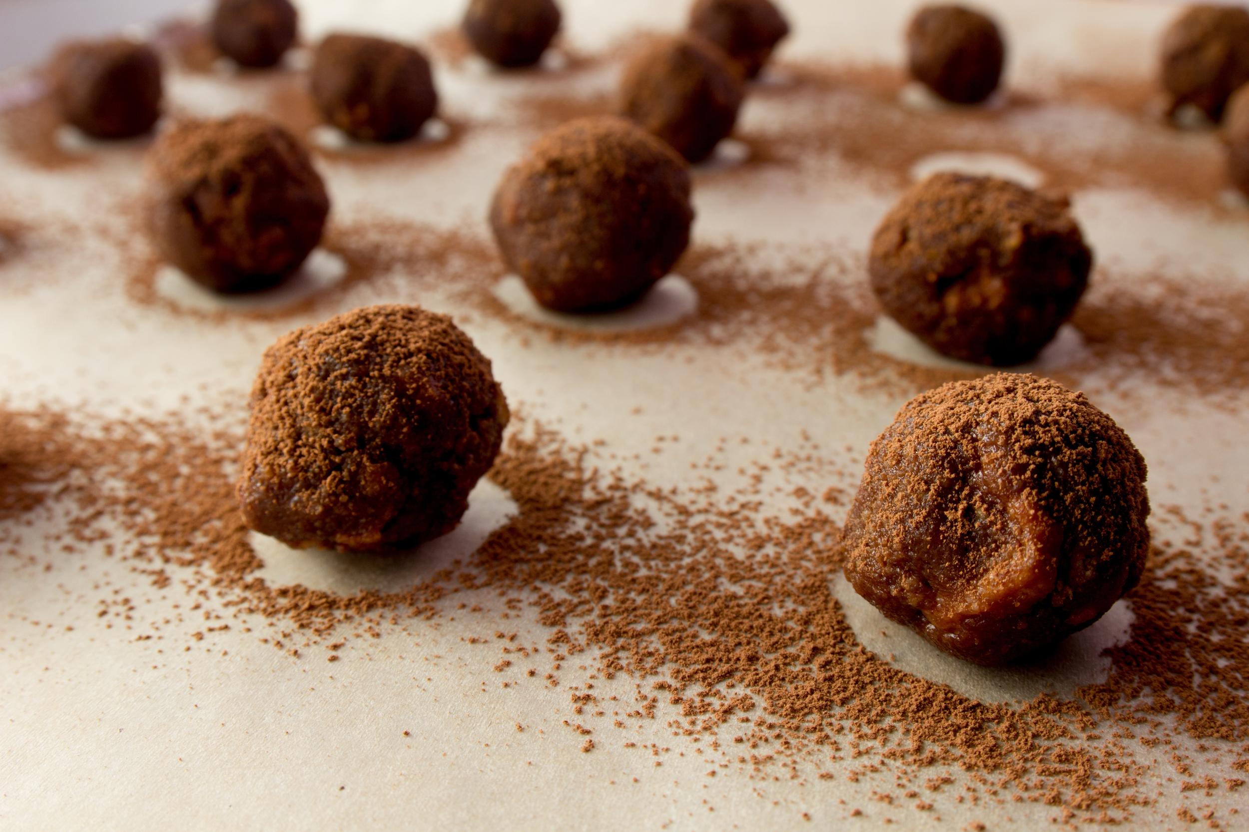 Chocolate Ginger Power Balls