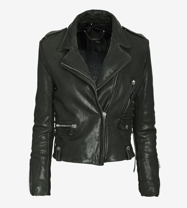 BARBARA BUI new vintage leather jacket