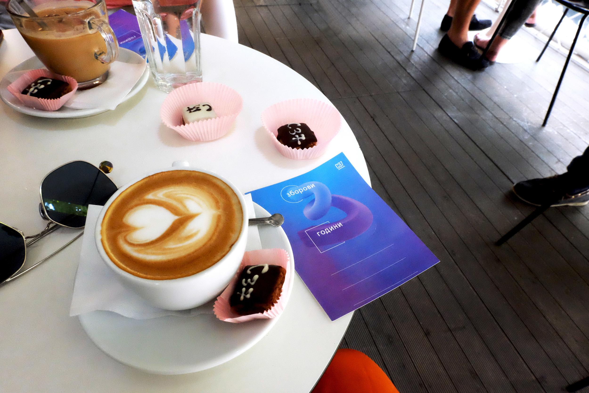 Cappuccino at  Concept 37